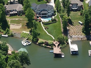 Beautiful family fun vacation home with amazing view, pool, hot tub, dock, more