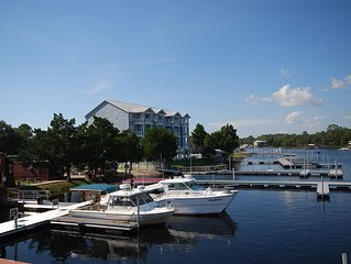 WATERFRONT, RIVERS EDGE CONDO #1D-BLDG 2 *PRIVATE DOCK and ASSIGNED BOAT SLIP!