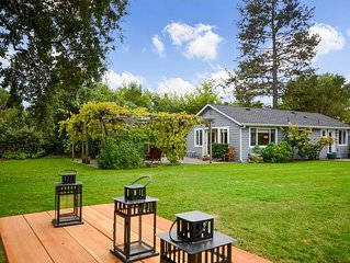 Private Sonoma Country Cottage