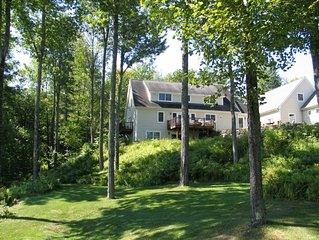 Beautifully appointed home with expansive yard and it's own pond!