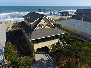 Ocean Front in S. Nags Head. Come Relax at OBX Life I