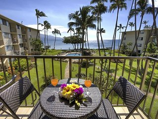 Kanai A Nalu #311  Direct Oceanfront with GREAT Oceanviews 2/2 Sleeps 4.