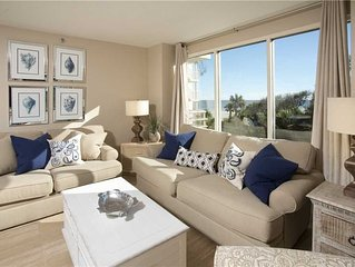 Recently Remodeled 2 Bedroom with a Partial Ocean View and Coastal Chic Decor T