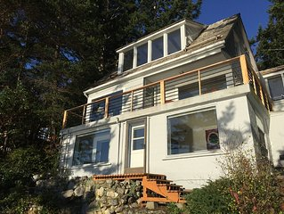 Waterfront home on Deception Pass, Anacortes WA