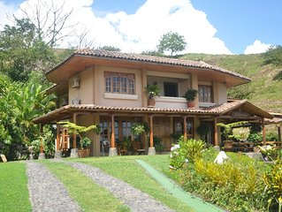 Grand Villa with Pool on Lake Arenal and Arenal Volcano!!