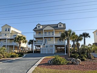 Island Drive 3686 Oceanfront! | Private Heated Pool, Hot Tub, Jacuzzi, Internet,