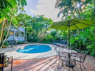 Southard Street Queen Conch - A Historic compound with large sunny pool