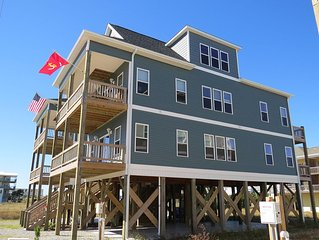 Gorgeous New Luxury 4 Bedroom Home with Fabulous Ocean Views / Pet Friendly