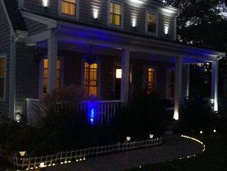 Newly Built Cape Cod House