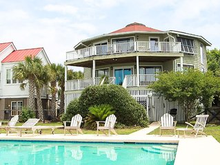 Middle St. 905- Oceanfront Cottage with Amazing View and Private Pool