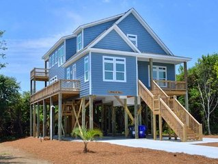 A Point of View-Brand New, 4 Bdrm/4 Bath Home-Close to Beach//Sleeps 12