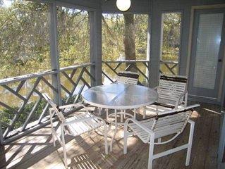 Turtle Cove 4809: 2 BR / 2 BA villa in Kiawah Island, Sleeps 6