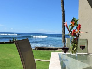 Kuhio Shores 119 - Two Bedroom Condo with White Water Ocean Views with A/C