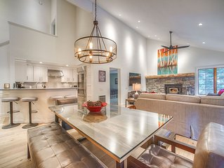 Modern yet Cozy Luxury Remodel! 3 Bedroom 3 Bath Condo across from Canyon Lodge!