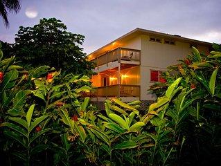 Sleep14+ Steps from POIPU beach** A/C** BEST VALUE in Poipu .. CALL NOW WOW