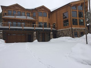 Brand New Custom 6 Bedroom Ski-in/Ski-out Chalet with the highest amenities!