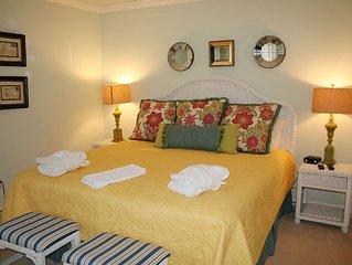 2 Bedroom, 2 Bath ground floor villa with Golf Course views in Evian Complex