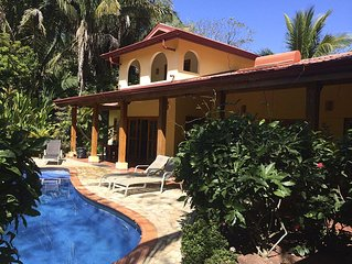 Playa Guiones J Section Beachside Villa, Private path to Surf