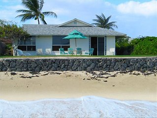 Private Beachfront Home in Sunny Ewa Beach