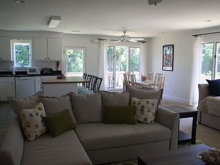 Enjoy this cozy two-bedroom and its easy beach access on Sullivan's Island!