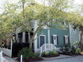 "In Seaside Proper ""Saratoga"" 725 Forest St, 3 BR/3 BA"