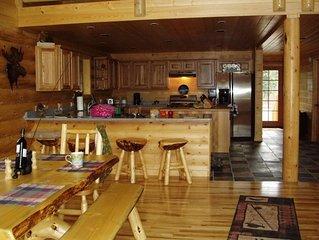 luxury Kenai river home