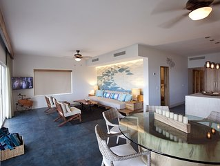 Oceanfront Newly Renovated 3 Bedroom Ground Level Condo