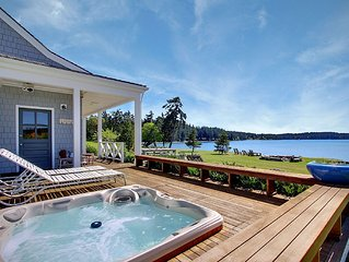 Waterfront Home Near Roche Harbor w/Hot Tub! - (Baute Bay Cottage)