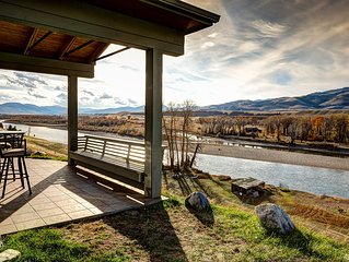Vacation Rental and Tipi Glamping Experience on the Yellowstone River