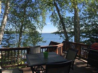 200 Feet Of Beautiful Lake Shore On Pokegama Lake!