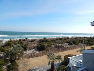 3 bedroom ocean front town home in the heart Wrightsville Beach