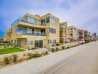 Wonderful Ground Floor Ocean Front Two Bedroom with Large Patio On Boardwalk