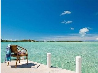 Bonefish Haven Turks & Caicos Oceanfront Villa W/ Pool & Dock