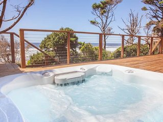 Cottage by the Sea - Ocean Front Hm, Direct Beach Access, Hot Tub