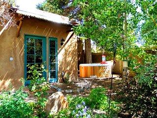Casa Carlos- Walk to Plaza  Hot Tub Authentic Adobe Taos Historic District