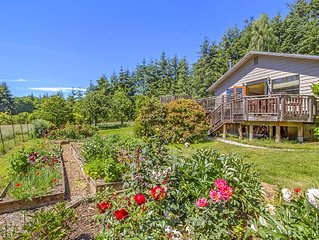 NEWLY LISTED! HISTORIC FARM! PRIVATE AND LUSH!