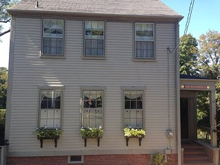 Charming Captain's Home On Lily Street - Most Desirable In Town Street