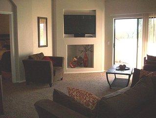 Gated Ocotillo Condo 2 Bedrooms, 2 Bathrooms, Sleep 5