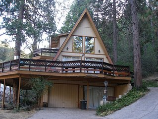 A-FRAME HOME WITH WRAP AROUND DECK AND LAKE VIEW