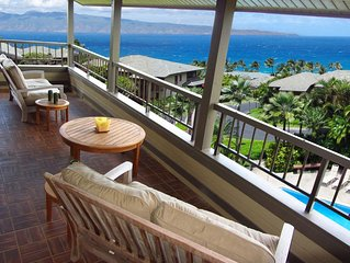 Kapalua Ridge Villa Amazing Panoramic Views of the Pacific!!