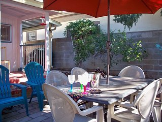 Toland Adobe: Charming House With Fully Fenced Courtyard, Old Bisbee, No Stairs