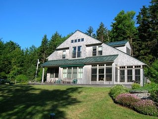 Maine Oceanfront Home -- Year-Round Rental!