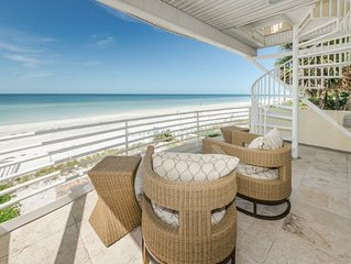 Luxury Beachfront Home with 4 Bedrooms - Sun Kissed Beach House  by Beach Time R