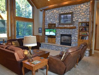 FREE SHARC OCT 1-MAY 20! 5 bd home on Woodlands Course w/ hot tub and pool table