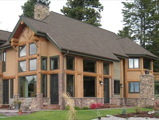 Exquisite Home, Stunning Views, Boat Dock on Flathead Lake