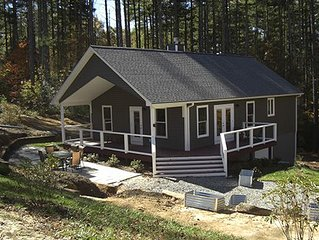 Brand New Construction on 8 Acres. Upscale Rural Luxury 'Cottage'