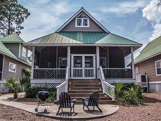 Davis Love/Golf View/Screened Porch/Close to Marina, Beach, Cabana Club