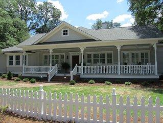 Heart of Village, Upscale One Story 1895 Cottage, Award Winning Renovation