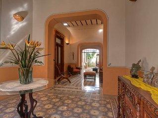 Beautiful Restored Colonial In Merida Centro – Santa Ana/paseo Montejo