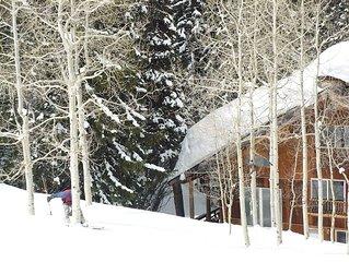 Ski to Cabin from Brighton Ski Resort
